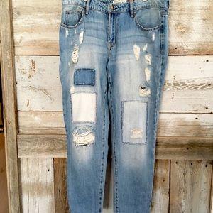 GARAGE VINTAGE Heritage Distressed Women's Jeans